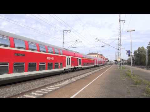 DB Regio Bahn en IC Leer HBF