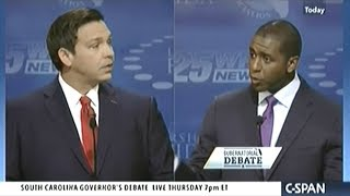 ANDREW GILLUM vs RON DeSANTIS ROUND #2 Florida Gubernatorial Debate