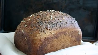 Yeast Bread Baking: Whole Wheat Bread With Seeds