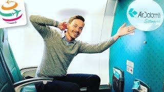 Air Dolomiti (Business) fliegt uns zu Airbus | GlobalTraveler.TV