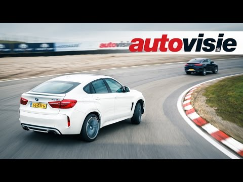 Asfaltduel: BMW X6 M vs. Mercedes-AMG GLE 63 Coupé S Circuit Zandvoort - by Autovisie TV