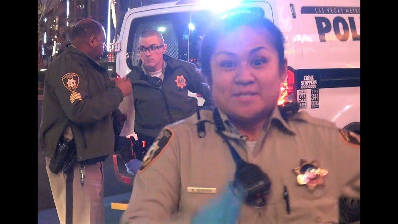 Vegas Female Officer All Up In My Face Lvmpd