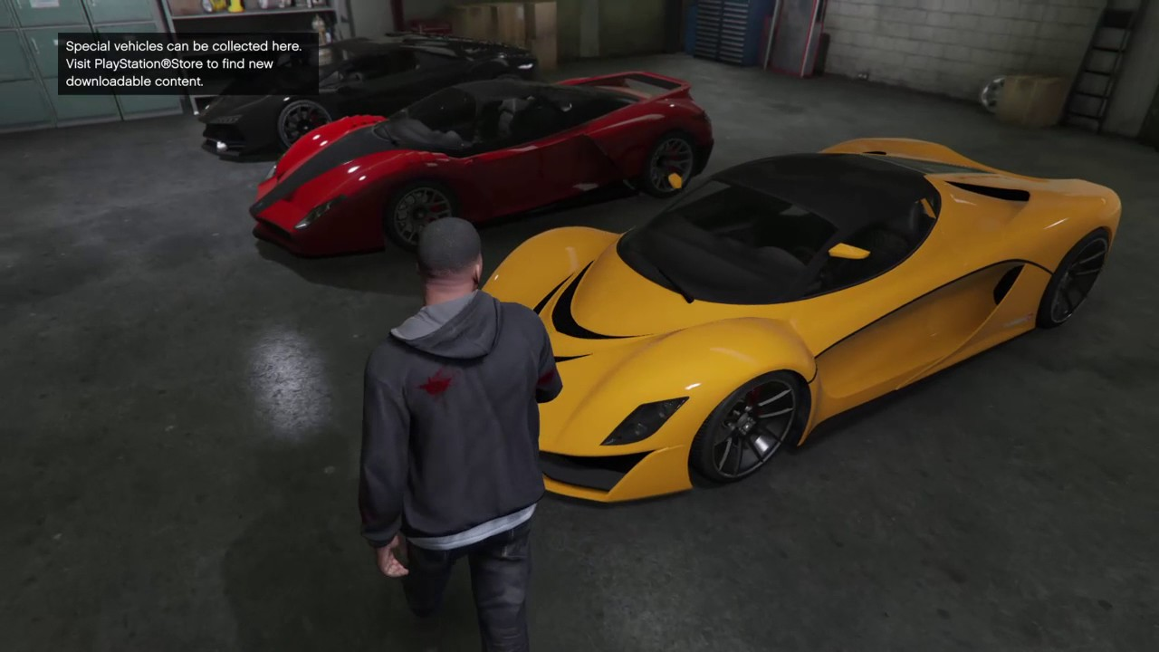 Gta 5 Garage Cars List