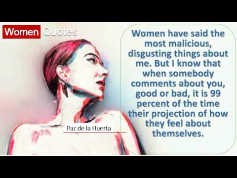 best-women-quotes-by-paz-de-la-huerta---women-have-said-the-most-malicious,