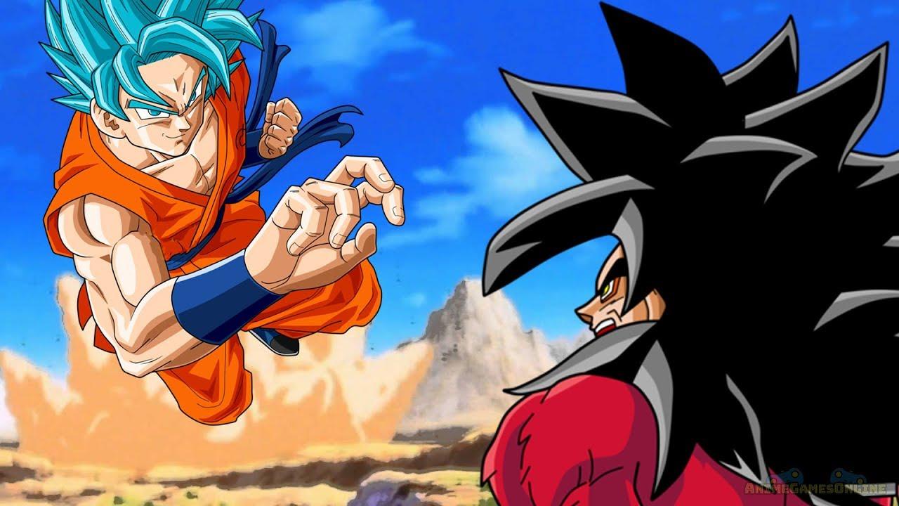 Goku Ssj4 Vs Goku Ssj3: SSJ4 Goku Meets SSGSS Goku Hidden Time Warp Story