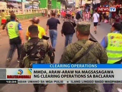 BT: MMDA, araw-araw na magsasagawa ng clearing operations sa Baclaran
