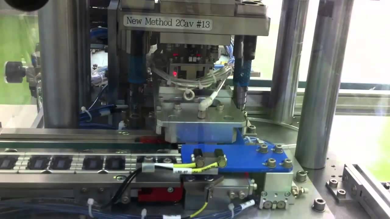 Auto Gate Cutting Machine For Mobile Speaker Cover Cncvina
