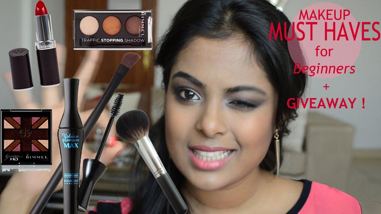 makeup must haves for beginners makeup starter kit