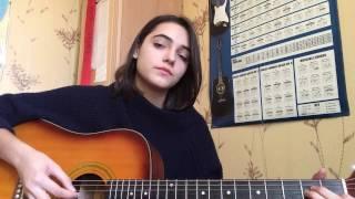 �������� ���� Би-2 и Чичерина - Мой Рок-Н-Ролл ( guitar cover by Olga Nizhegolenko) ������