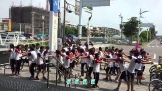 『104全運會在高雄,男子排球在福誠』福誠高中快閃表演
