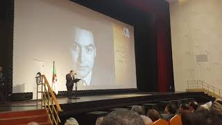 الفنان المصري #طارق عبد العزيز# يبكي الجزائريين في تكريم الملحن محمد فوزي
