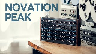 My Favorite Desktop Synth : Novation Peak // My go to for bass and lush pad sounds