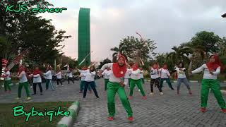 Download Senam Kreasi Pamer Bojo ( Cendol Dawet ) Nella Kharisma || KJS Dancer || by Baiq Ike
