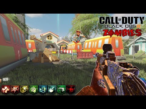 SUBWAY SURFERS CUSTOM ZOMBIES MUY TOP | CALL OF DUTY: BLACK OPS 3 ZOMBIES