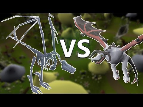 Ancient Wyverns VS. Skeletal Wyverns