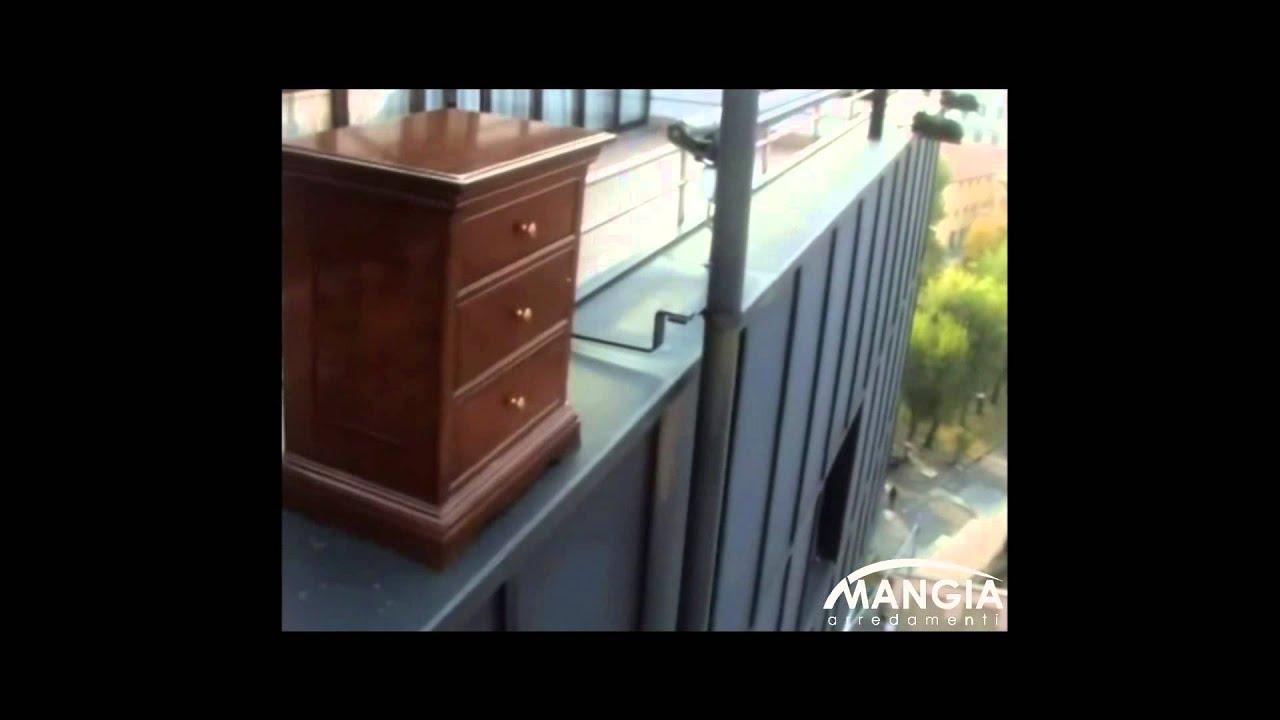 Le fablier spot Mangia Arredamenti rivenditore autorizzato - YouTube