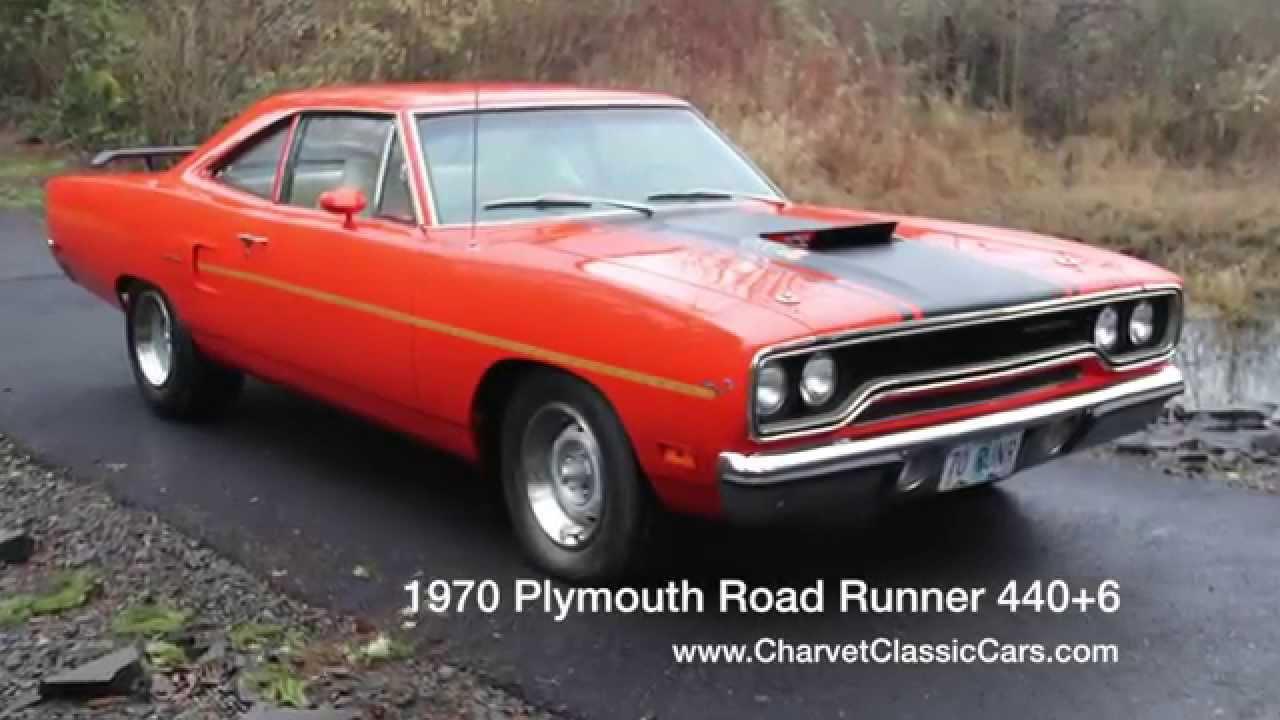 1970 Plymouth Road Runner 4406 Engine Running  YouTube