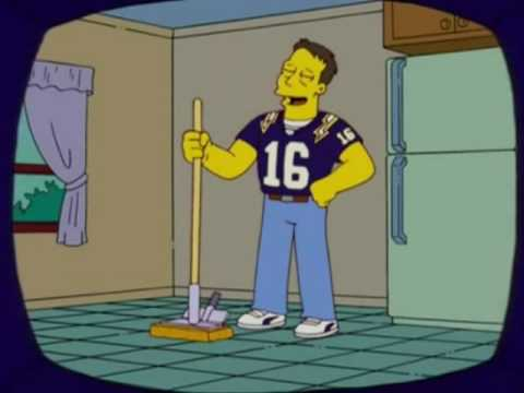 Ryan Leaf on The Simpsons