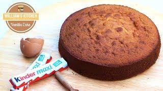 Meilleur Gâteau à la Vanille pour LAYER CAKE - William's Kitchen