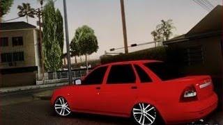 GTA IV - прикол,Лада Седан Баклажан! [FAIL]