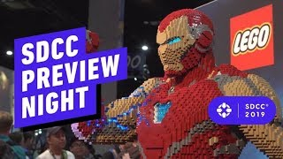 Preview Night Show Floor Highlights - Comic Con 2019