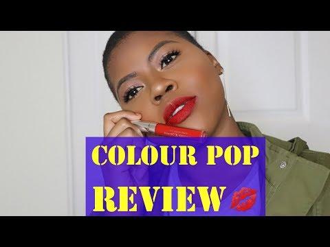 Colourpop Ultra Matte Liquid Lipsticks | Swatches, Review & First Impressions