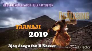 TAANAJI first look trailer bollywood tiger Ajay devgn fan R Nazeer