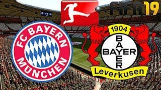 FIFA 19 | FC BAYERN MÜNCHEN vs. BAYER LEVERKUSEN | BUNDESLIGA ◄FCB #11►