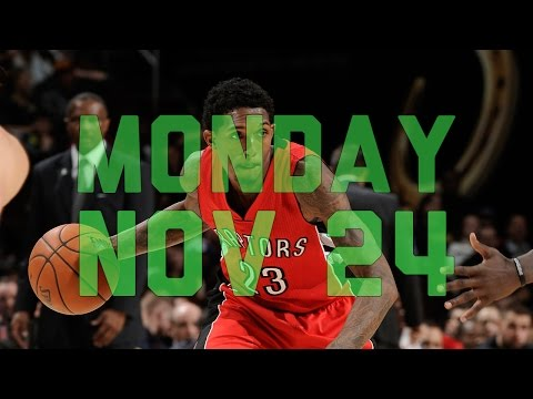 NBA Daily Show: Nov. 24th – The Starters