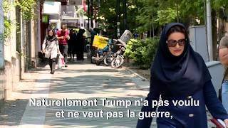 Iran : réactions dans les rues de Téhéran aux menaces de Trump   AFP News