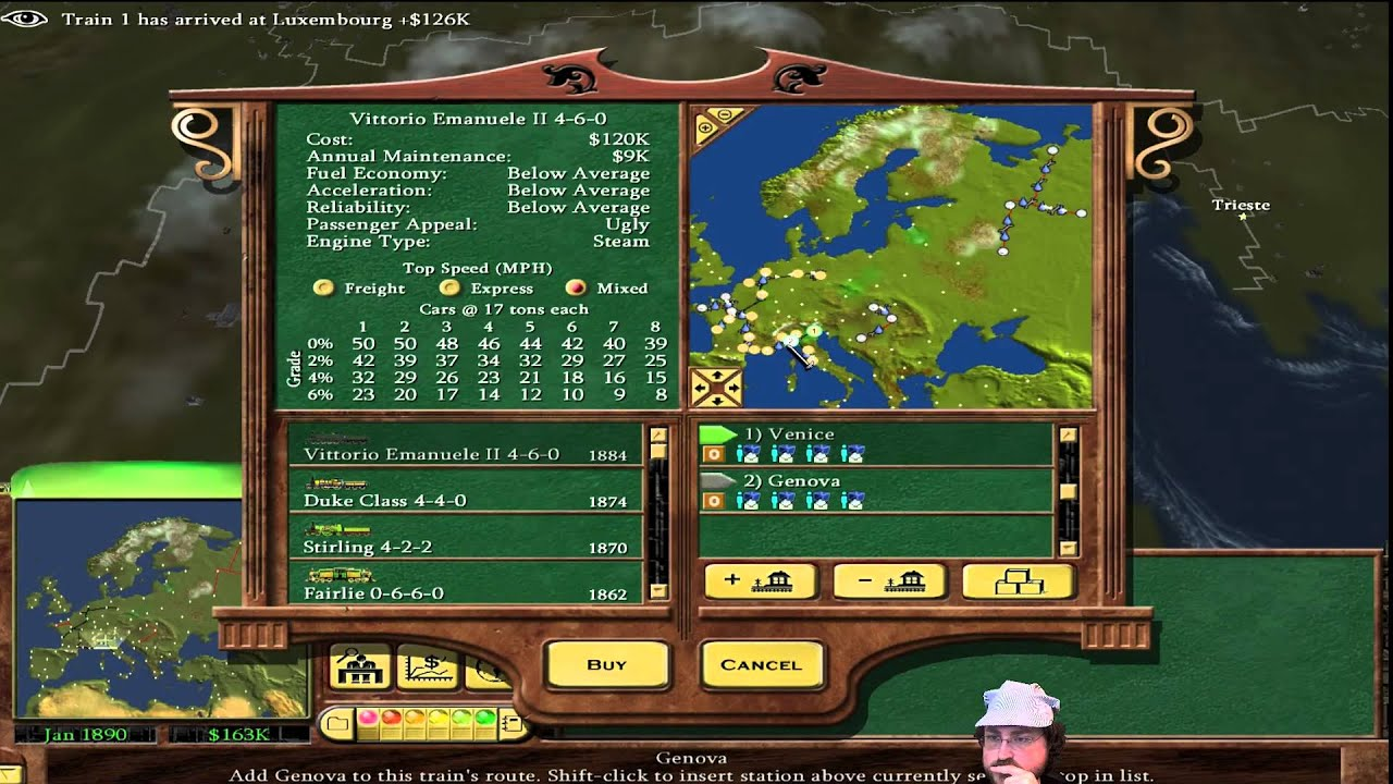 Railroad Tycoon 2 Maps - Year of Clean Water