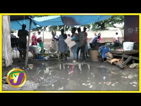 May Pen Market in Clarendon, Jamaica | TVJ News - July 3 2021