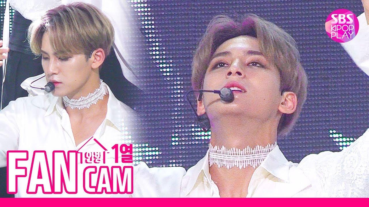 [안방1열 직캠4K] 세븐틴 민규 '독 : Fear' (SEVENTEEN Mingyu Fancam)│@SBS Inkigayo_2019.10.6