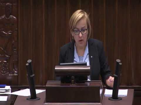 Paulina Hennig Kloska – wystąpienie z 22 listopada 2017 r.