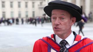 Sporting legend, Stephen Park OBE, awarded honorary degree of Doctor of Sport