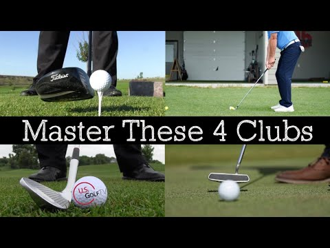 The 4 Clubs Every Golfer Must Master