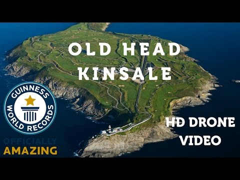 "GolfBiride App | Drone video of ""Old Head Golf Links"" Kinsale"