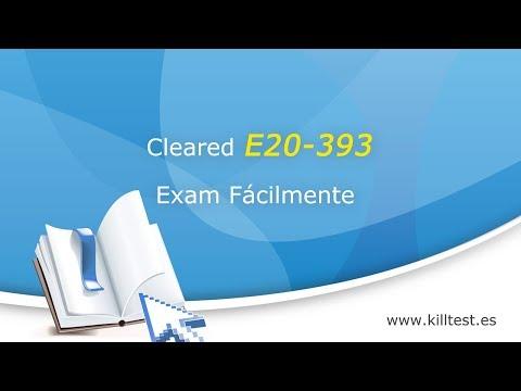 EMC Implementation-Engineer E20-393 preguntas en línea