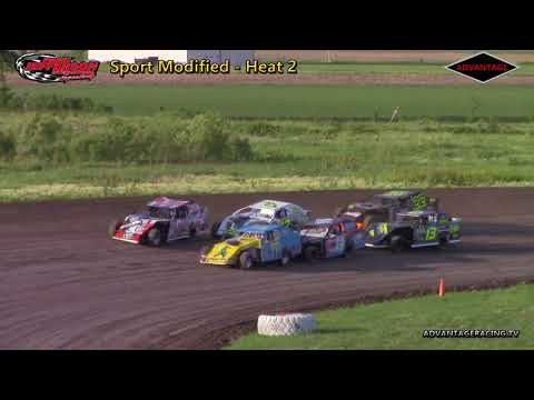 Sport Modified Heats - Park Jefferson Speedway - 6/2/18
