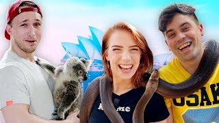 Snuggling Koala Bears in Australia (Squad Vlog)