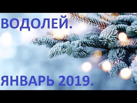 ВОДОЛЕЙ. Январь 2019. Общий Таро Прогноз.