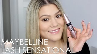 First Impression | Maybelline Lash Sensational Mascara