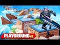 *IMPOSSIBLE* PLAYGROUND PARKOUR COURSE in FORTNITE! (RAGE WARNING)