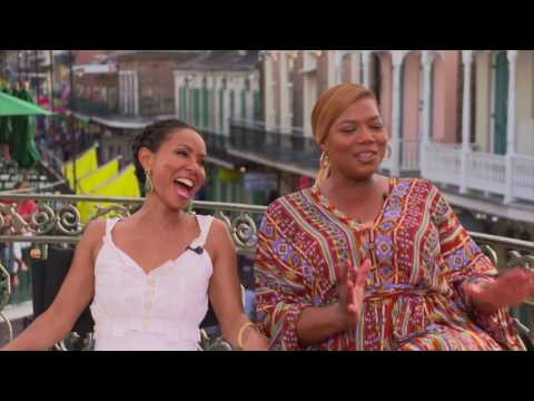 Queen Latifah and her 'Girls Trip' co-stars talk about filming in New Orleans