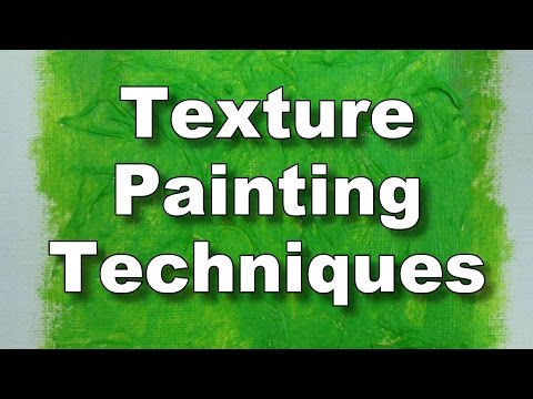 How To Use Texture Paste And Gel