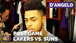 D'Angelo Russell After Lakers 3-0 Home Start: 'It's Something New About The Atmosphere'