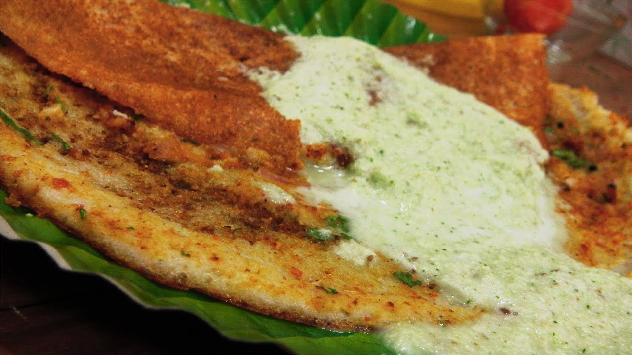 Street style butter dosa recipe indian street food youtube forumfinder Gallery
