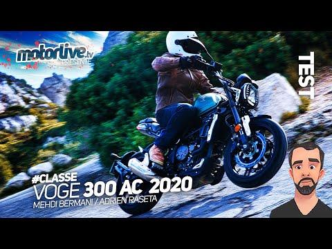 VOGE 300 AC 2020 : CLASSIQUE, C'EST CHIC ! | TEST MOTORLIVE