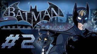 Batman: Arkham Origins Gameplay / Playthrough w/ SSoHPKC Part 2 - Killer Croc
