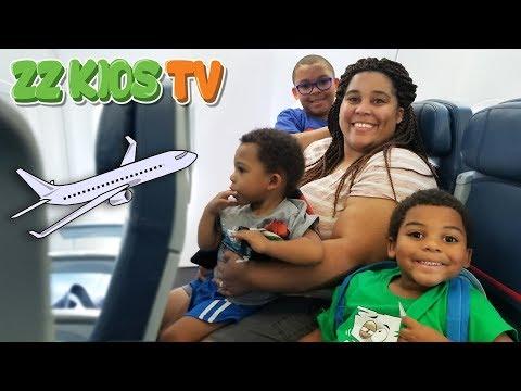 ZZ KIDS AIRPLANE RIDE TO LEGO LAND CALIFORNIA